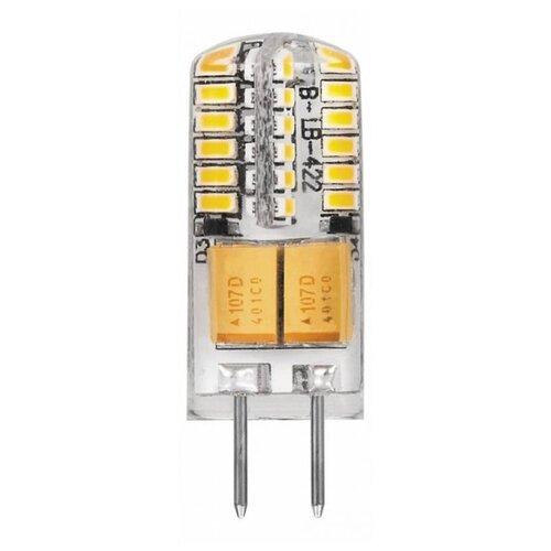 Лампа светодиодная Feron LB-422 25532, G4, JC, 3Вт лампа светодиодная gauss 207707203 g4 jc 3вт