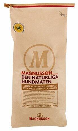 Корм для собак Magnusson Original Den Naturliga Hundmaten (14 кг)