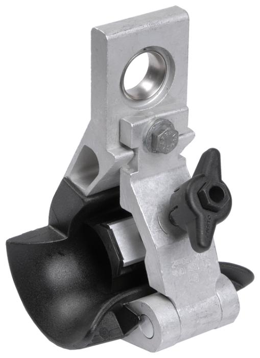 Зажим для натяжения кабеля/троса IEK UZA-15-D25-D120-90-12