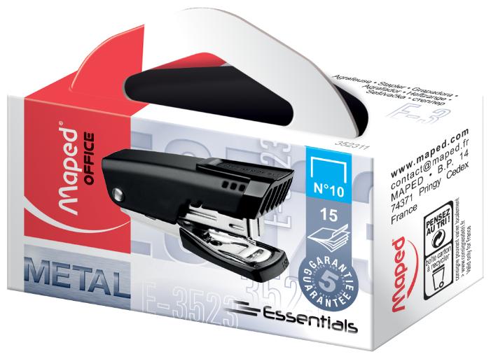 Maped степлер Essentials Metal Мини №10 (352311)