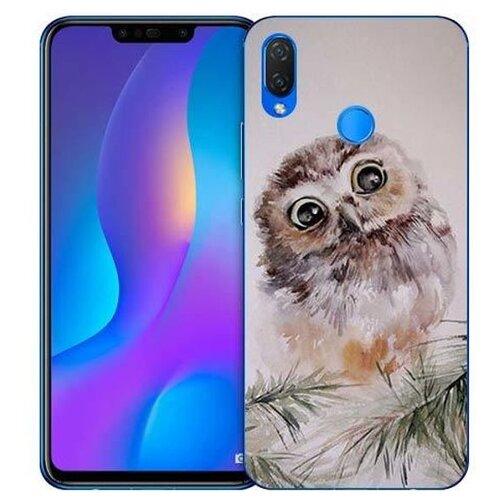 Купить Чехол Gosso 726055 для Huawei Nova 3i совенок