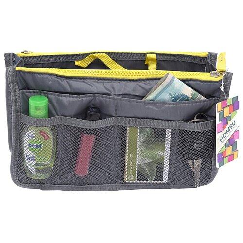 Органайзер для сумки HOMSU Chelsy, серый органайзер для сумки homsu цвет черный 28 x 8 x 16 см