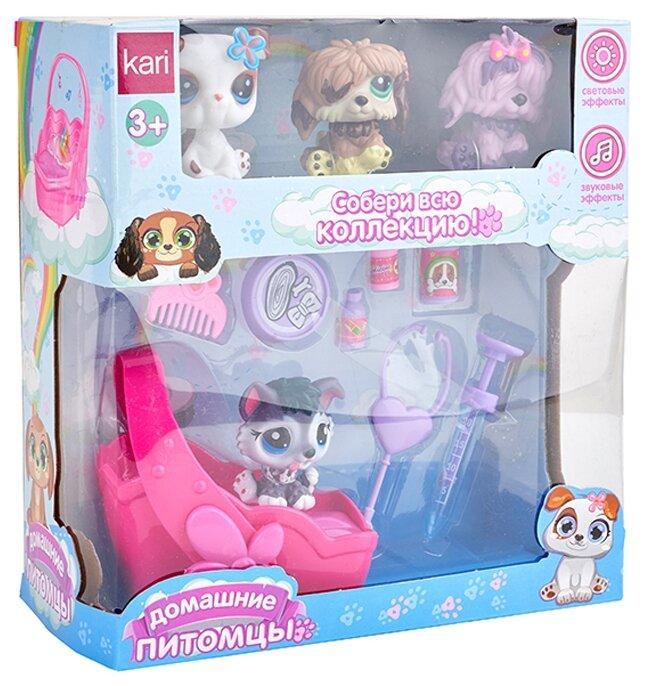 Игровой набор kari Домашние питомцы G780697-2