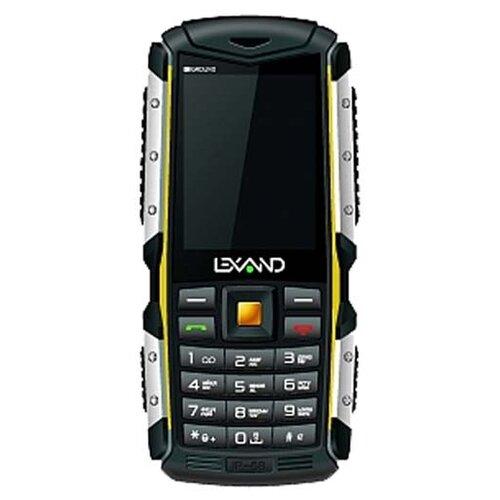 Телефон LEXAND R3 Ground черный / желтый телефон