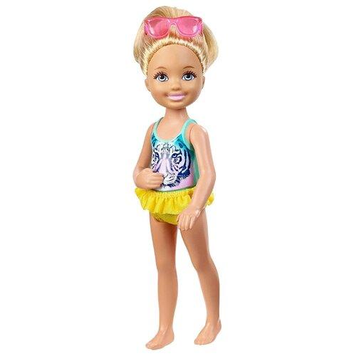 Купить Кукла Barbie Плавание Челси, 14 см, DGX32, Куклы и пупсы