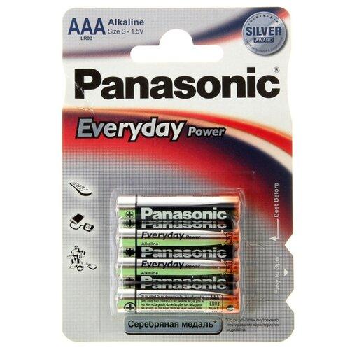 Батарейка Panasonic Everyday Power AAA/LR03 4 шт блистер