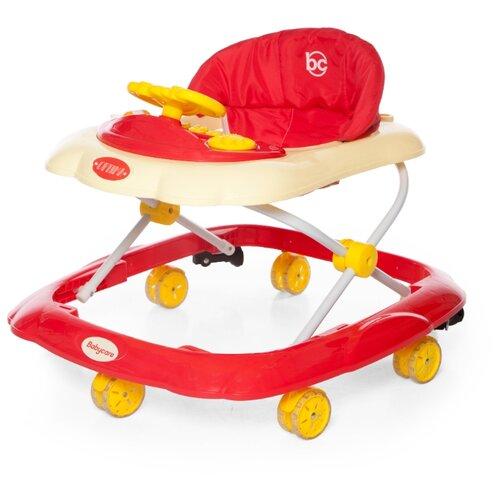 Ходунки Baby Care Optima красный baby care baby care ходунки walker розовые