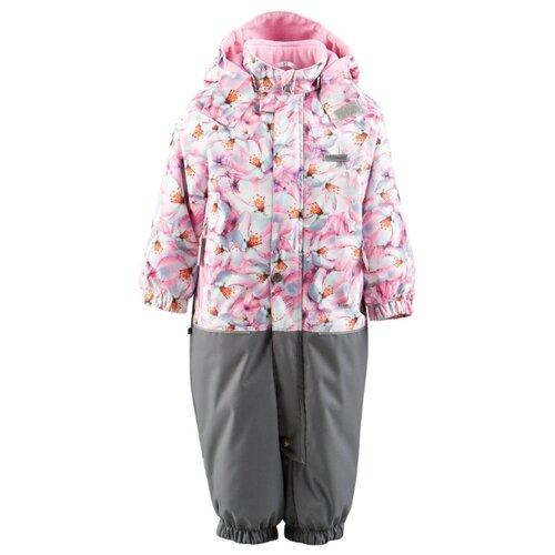 Купить Комбинезон KERRY WILMA K19005A размер 92, 1790 розовый/серый, Теплые комбинезоны