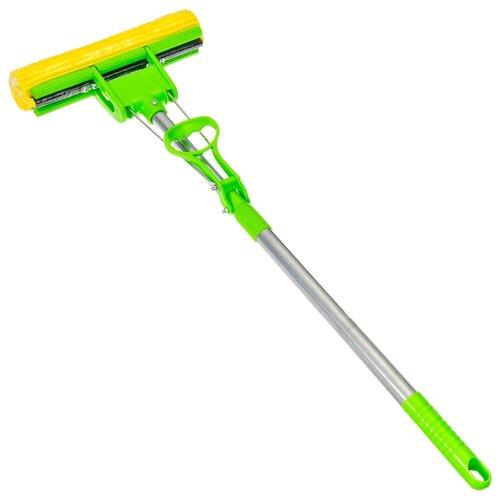 Швабра Vetta 444049 зеленый/стальнойШвабры и насадки<br>