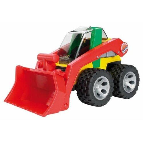 Погрузчик Bruder Roadmax (20-060) 1:16 45 см красный/желтый/зеленый bruder roadmax 20 050
