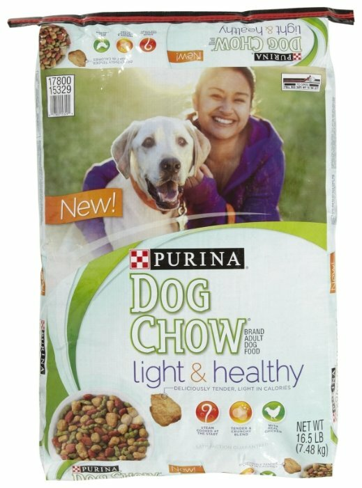 Корм для собак DOG CHOW Light & Healthy курица 7.48 кг