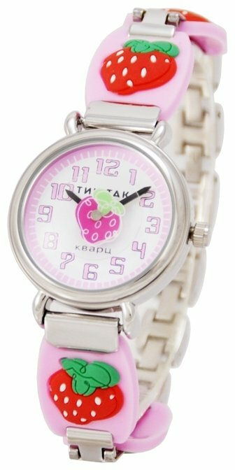 Наручные часы Тик-Так H108-3 Розовая клубника