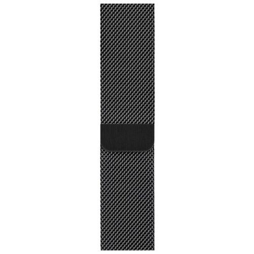 Apple Миланский сетчатый браслет (для корпуса 40 мм) черный космос