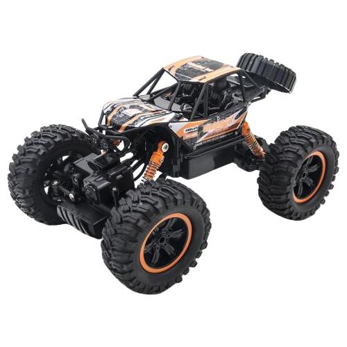 Купить Внедорожник MZ Climbing Car (MZ-2838) 1:14 29.5 см черный/оранжевый, Радиоуправляемые игрушки