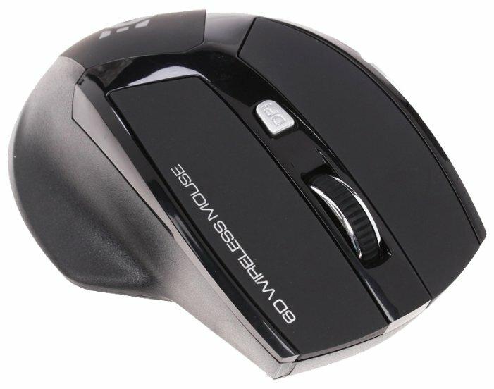 Мышь DEXP WM-602BU Black USB