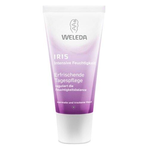 Weleda IRIS Освежающий дневной крем-уход для лица, шеи и области декольте, 30 мл крем для лица освежающий увлажняющий iris weleda