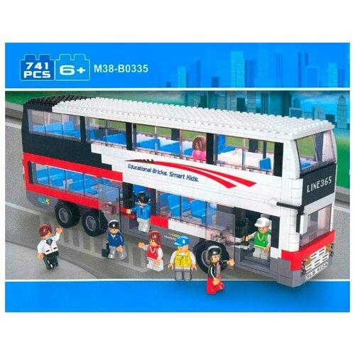 Купить Конструктор SLUBAN Автобус M38-B0335, Конструкторы
