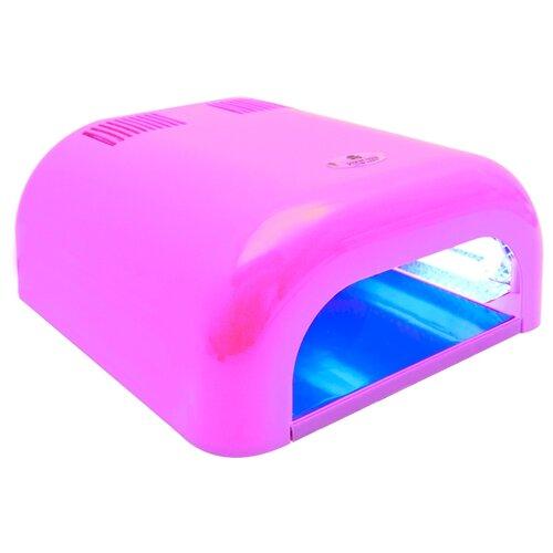 Купить Лампа UV planet nails 36W Tunnel Econom, 36 Вт светло-розовая