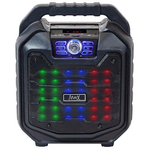 Портативная акустика Max MR 380 черный