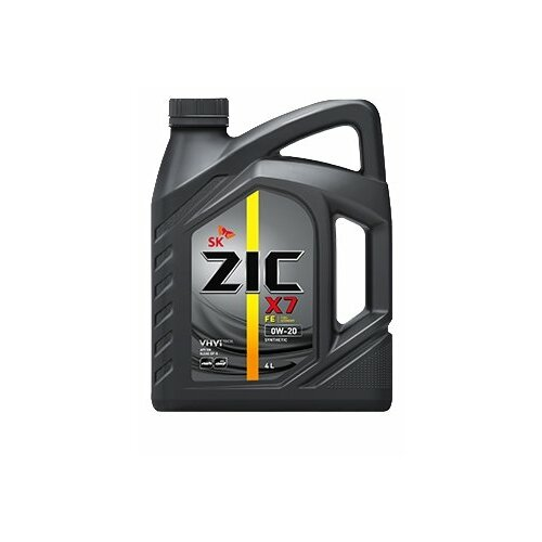 Моторное масло ZIC X7 FE 0W-20 4 л