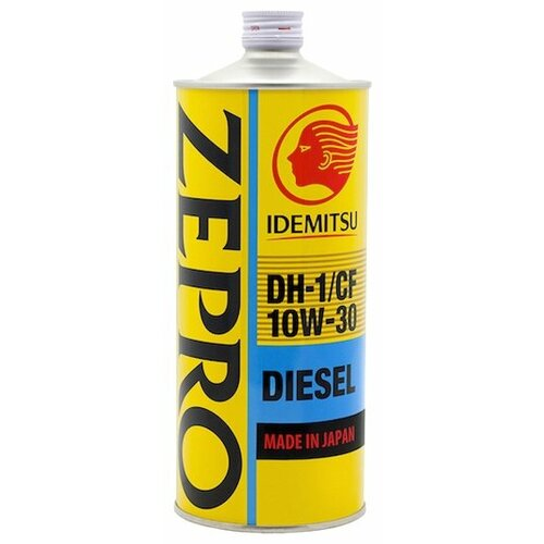 Минеральное моторное масло IDEMITSU Zepro Diesel 10W-30 1 л минеральное моторное масло mobis classic gold diesel 10w 30 4 л