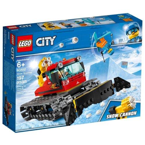цена на Конструктор LEGO City 60222 Снегоуборочная машина