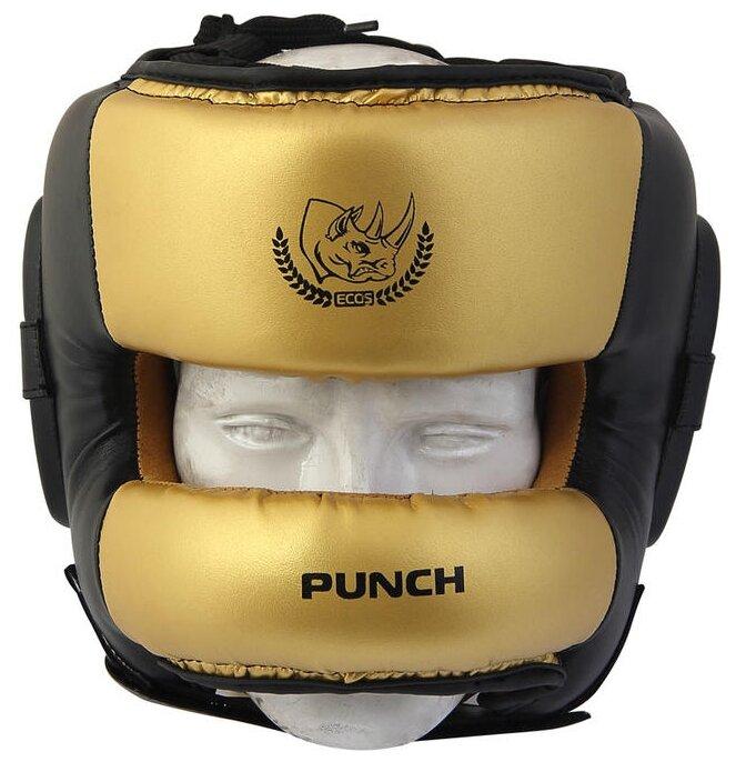 Шлем боксерский ECOS PS-826L, р. M