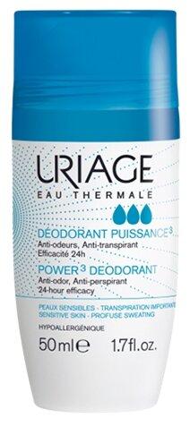 Uriage Eau Thermale дезодорант-антиперспирант, ролик, Power 3 — купить по выгодной цене на Яндекс.Маркете