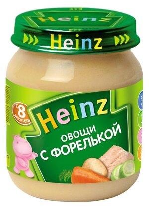 Пюре Heinz Овощи с форелькой (с 8 месяцев) 120 г, 1 шт
