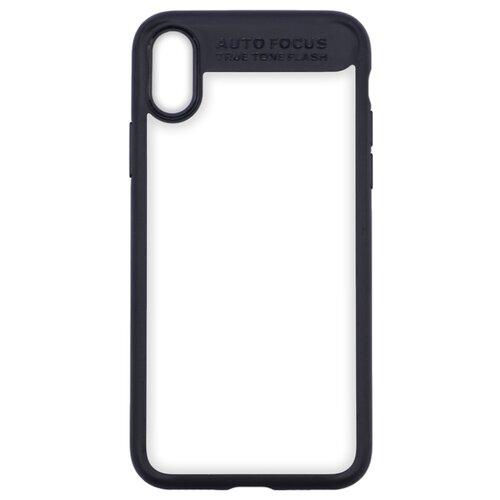 Купить Чехол INTERSTEP Pure-Case для Apple iPhone X черный