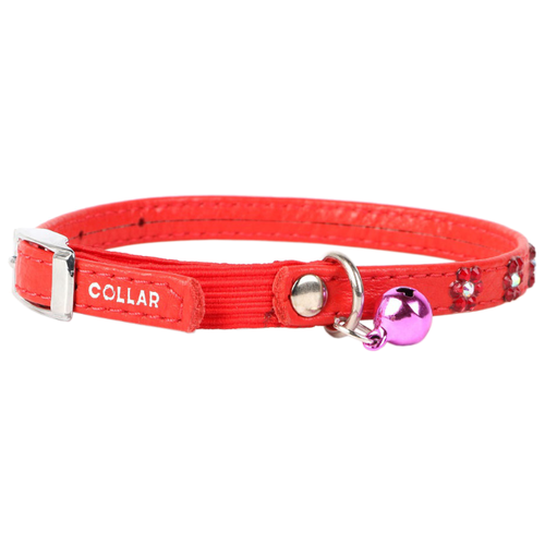 Ошейник COLLAR Glamour (3255) красный
