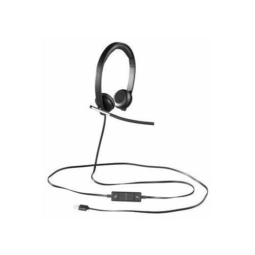 Компьютерная гарнитура Logitech VC USB Headset Stereo H650e черный 981 000519 гарнитура logitech headset h650e stereo usb
