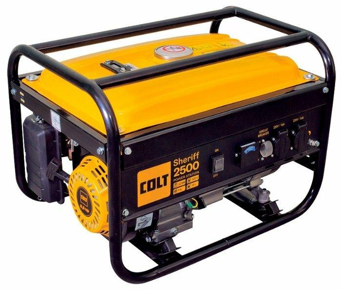 Бензиновый генератор COLT Sheriff 2500 (2000 Вт)