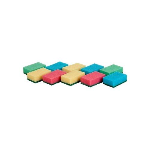 Губки Tescoma Clean Kit кухонные 10 шт сушилка для щетки и губки tescoma clean kit