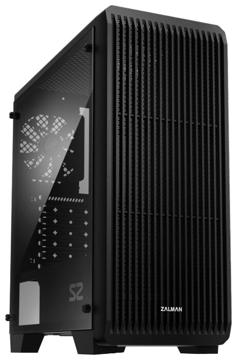 Корпус для компьютера Zalman S2 Black w/o PSU