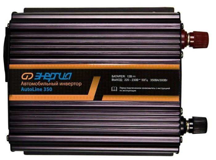 Купить Инвертор Энергия AutoLine 350 черный по низкой цене с доставкой из Яндекс.Маркета