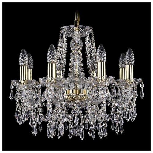 Люстра Bohemia Ivele Crystal 1403 1403/8/160/G, E14, 320 Вт