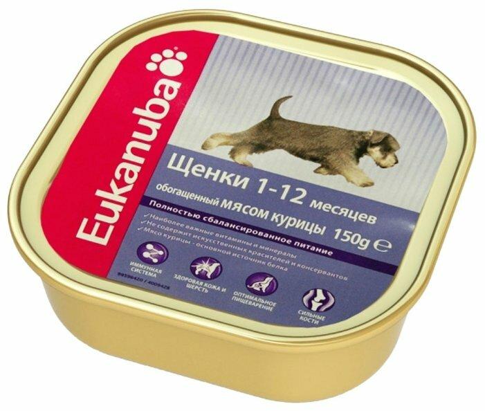 Корм для щенков Eukanuba курица 150г