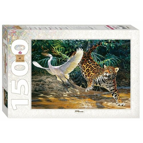 Пазл Step puzzle Art Collection Охота у воды (83056), 1500 дет. пазл step puzzle travel collection водопад 83004 1500 дет