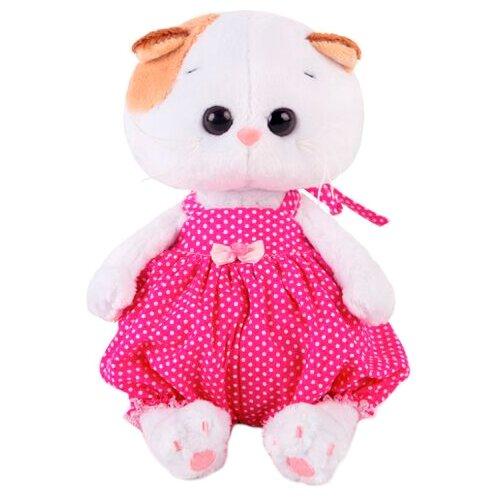 Купить Мягкая игрушка Basik&Co Кошка Ли-Ли baby в песочнике 20 см, Мягкие игрушки