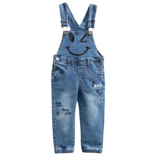 Полукомбинезон playToday размер 80, синийБрюки и шорты<br>