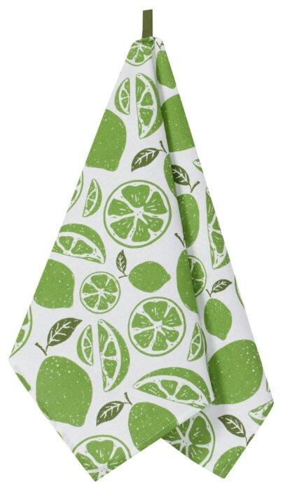 Guten Morgen полотенце Мохито кухонное 45х60 см зеленый/белый
