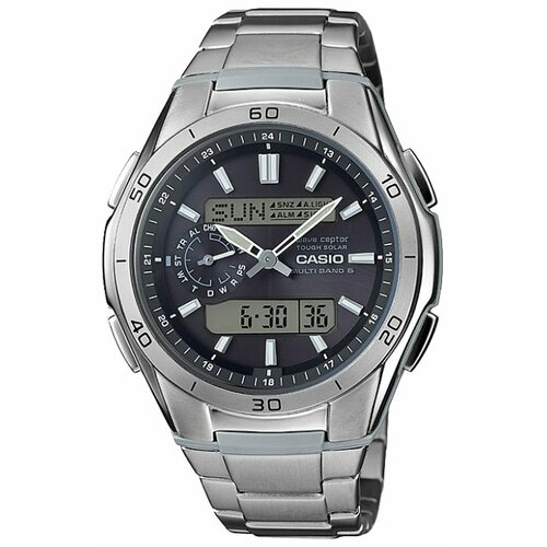 Наручные часы CASIO WVA-M650TD-1A наручные часы casio radio controlled wva 109he 1b