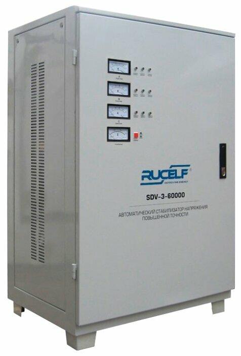 Стабилизатор напряжения трехфазный RUCELF SDV-3-60000 (54 кВт)