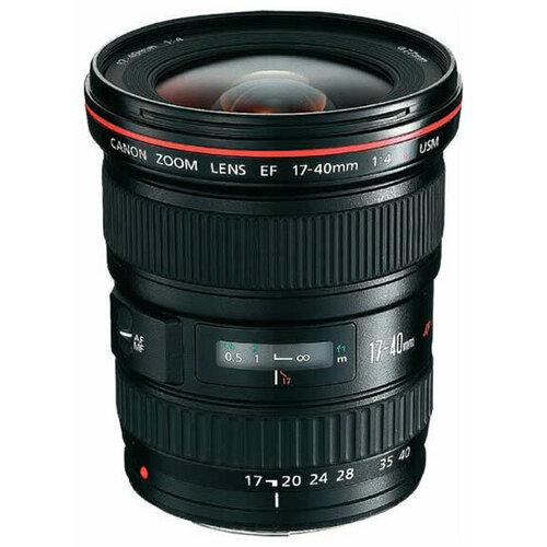 Фото - Объектив Canon EF 17-40mm f/4L USM черный объектив canon ef 16 35mm f 2 8l iii usm черный