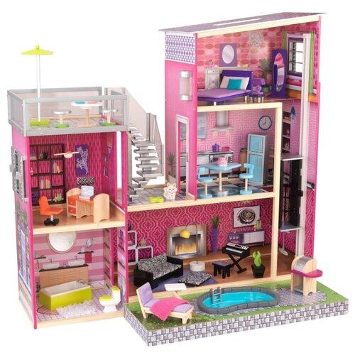 Купить KidKraft Дом мечты Барби Глянец 65833, Кукольные домики