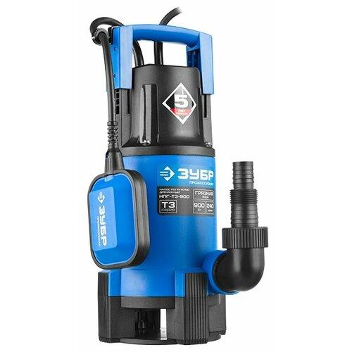 Дренажный насос ЗУБР НПГ-Т3-900 (900 Вт) дренажный насос зубр нпг т3 900 900 вт