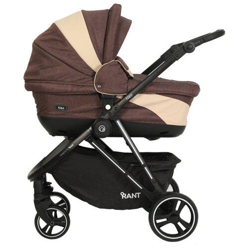 Купить Универсальная коляска RANT Neo (2 в 1) brown/beige, Коляски