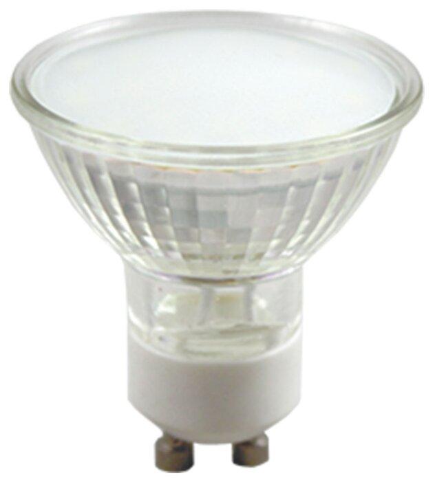 Светодиодная лампа GLANZEN LGW-0009-10 (MR 16, GU 10, 5 Вт, 2700 К, стекло, мат.)