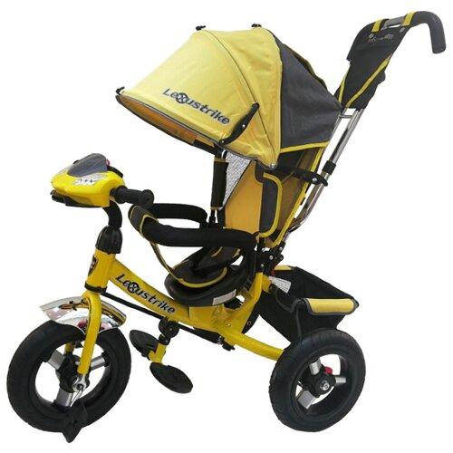 Купить Трехколесный велосипед Shantou City Daxiang Plastic Toys Lexus Trike 950M2-N1210-TXT желтый, Трехколесные велосипеды